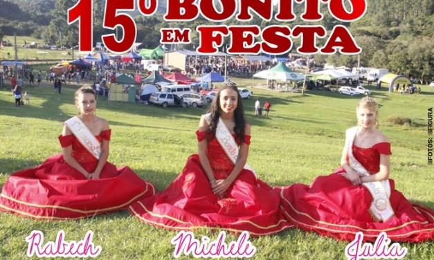 15º Bonito em Festa  / Soberanas do Bonito – Domingo (08/04/18)