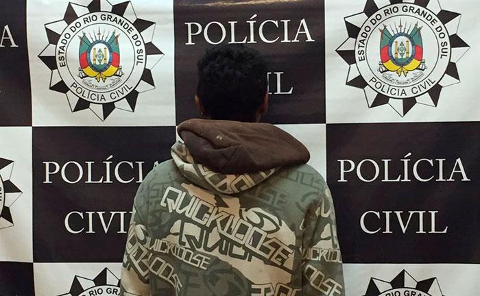 Polícia identifica ladrão de motos em Tapes