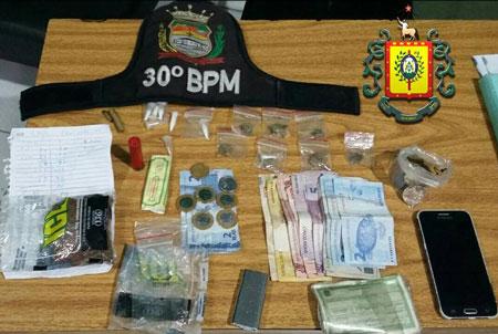 Casal é preso acusado de tráfico de drogas em Camaquã