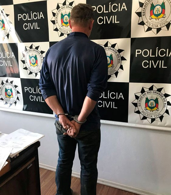 Preso suspeito de estupro em Dom Feliciano