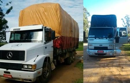Dois caminhões com carga de fumo são roubados na BR-116, em Barra do Ribeiro