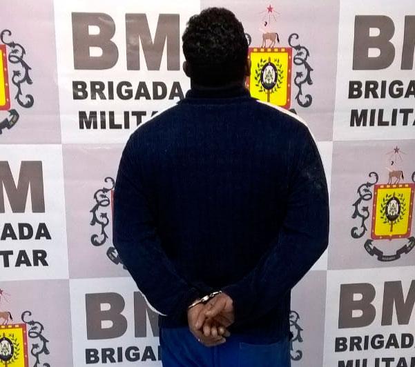 Brigada Militar identifica e prende suspeito em Camaquã