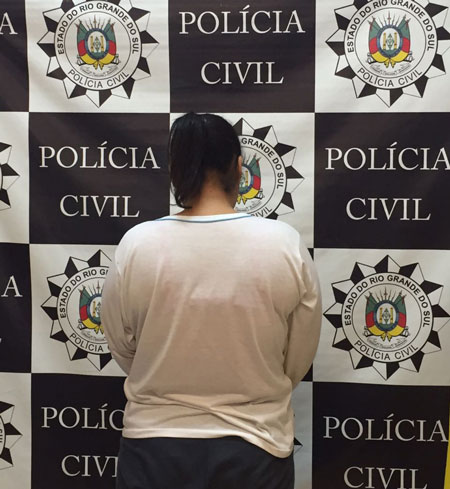 Presa a autora de dois homicídios no Balneário Rebelo em Tapes