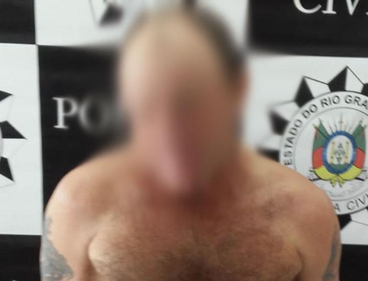 Foragido de Camaquã foi preso em Barra do Ribeiro