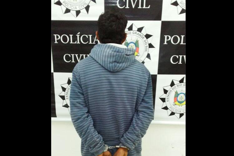 Polícia cumpre mandado contra acusado de estupro em Barra do Ribeiro