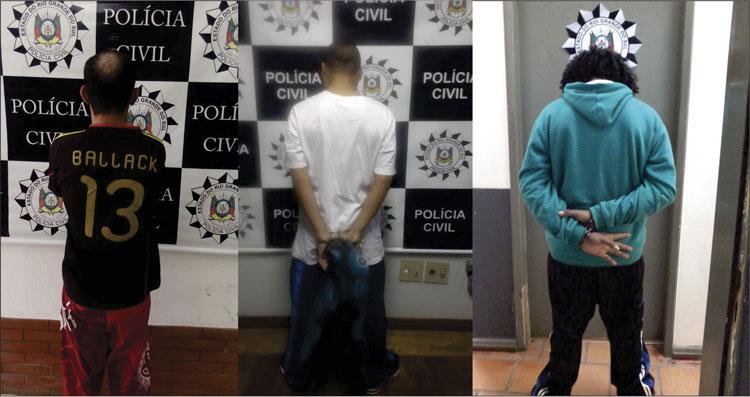 Três são presos em operação contra o tráfico de drogas e crimes patrimoniais na região