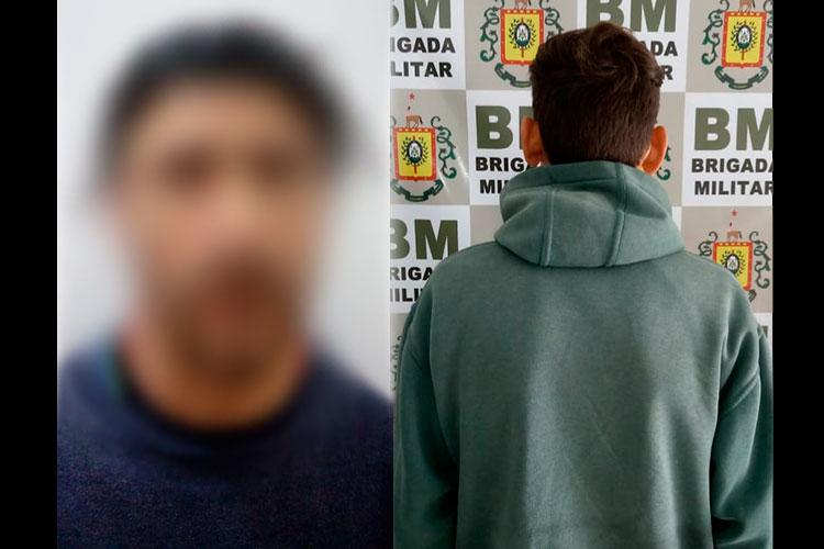 Brigada Militar prende suspeitos de latrocínio em Sentinela do Sul