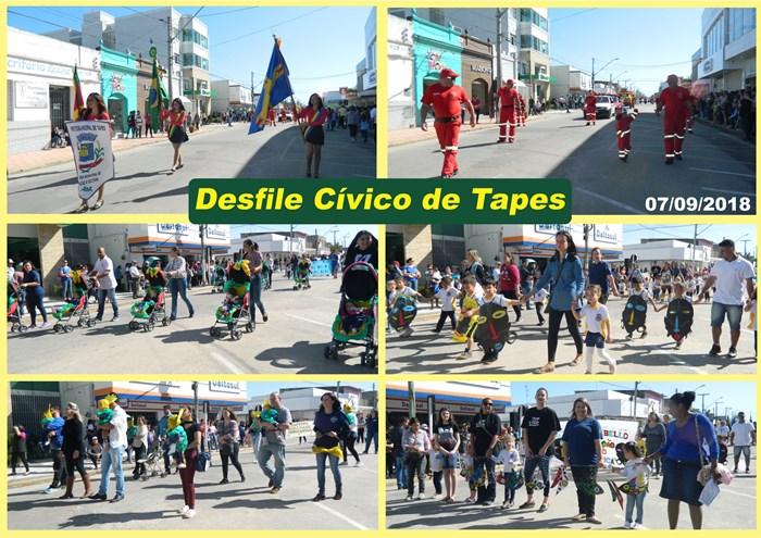 Desfile Cívico Tapes