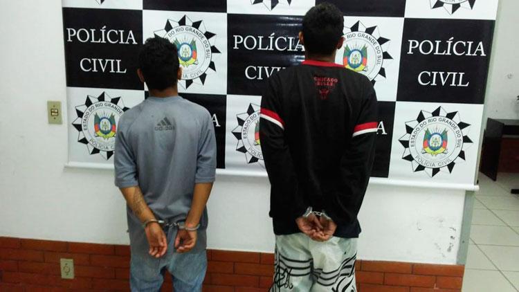 Polícia apreende menores por tráfico de drogas