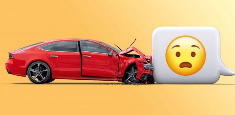 Campanha alerta sobre os riscos de mexer no celular ao volante