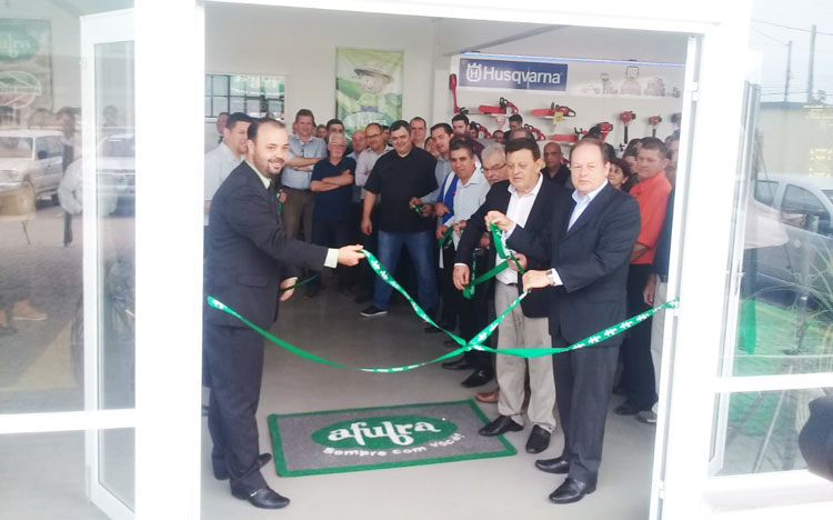 Afubra inaugurou novo espaço comercial em Camaquã