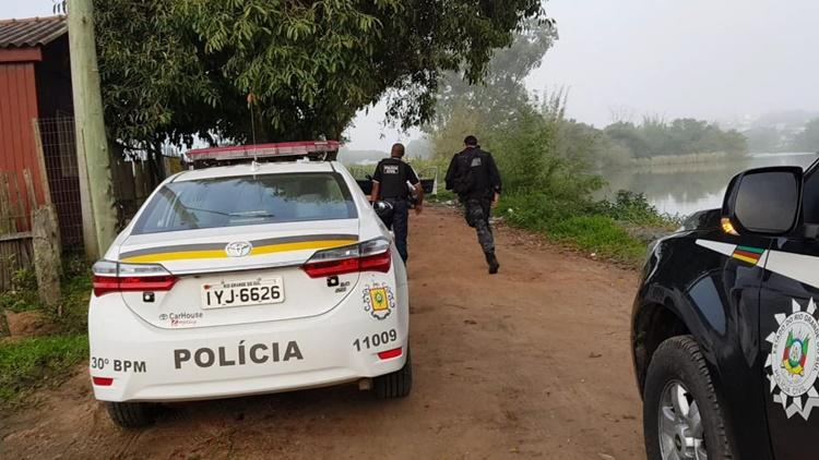 Polícias Civil e Militar deflagram grande operação contra o tráfico em São Lourenço do Sul