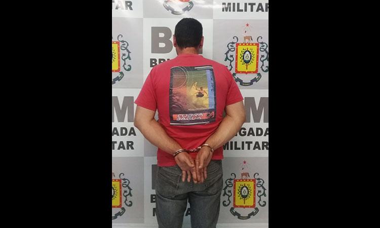 Brigada Militar prende indiciado durante patrulhamento