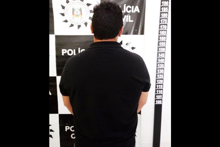 Homem preso por estupro de vulnerável em Cerro Grande do Sul