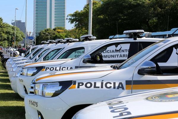 Órgãos de Segurança Pública passam a contar com 202 novos veículos