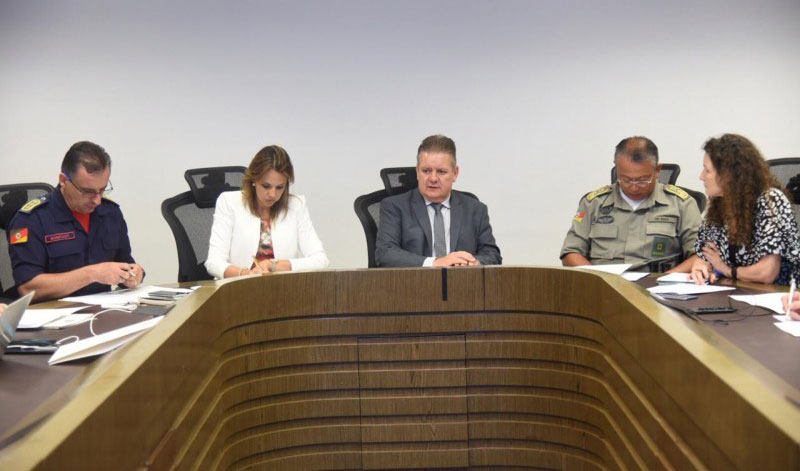 Vice-governador encaminha primeiras demandas prioritárias da Segurança