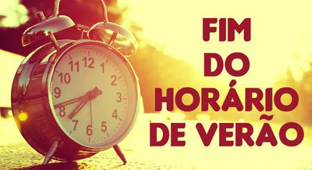 Horário brasileiro de verão termina no próximo sábado
