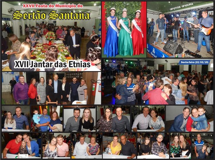 Fotos do XVII Jantar das Etnias em Sertão Santana