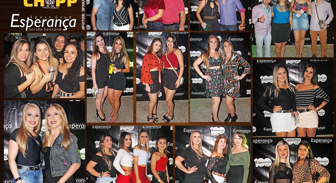Festival do Chopp Clube Esperança Sertão Santana / Fotos na Entrada