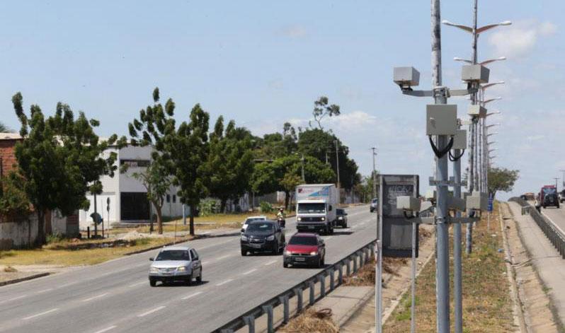 Pardais de 13 rodovias estaduais deverão ser desligados em julho