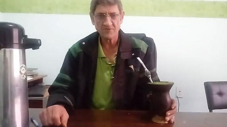 Enio Maciejewski reeleito presidente do STAF de Dom Feliciano