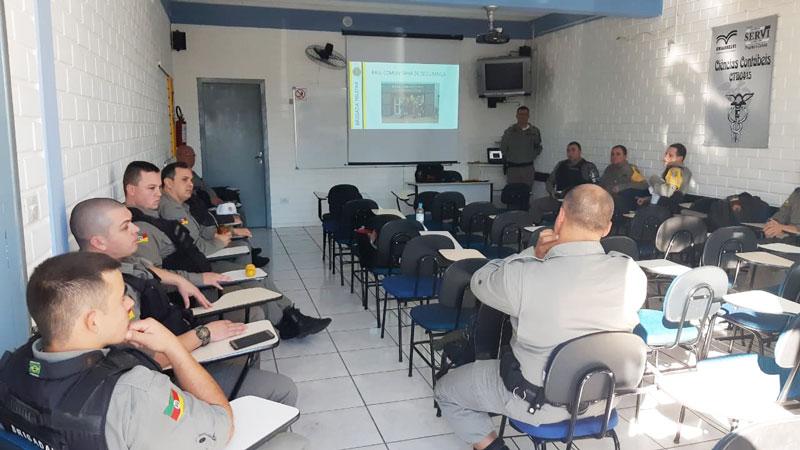 Brigada Militar realiza instruções de aperfeiçoamento em Camaquã
