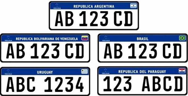 Implantação da placa Mercosul é adiada para janeiro de 2020