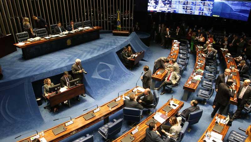 Senado aprova texto base da reforma mas mantem o abono