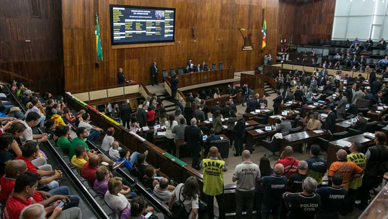 Assembleia Legislativa aprovou PLC 503/2019