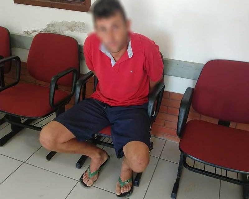 Homem é preso por tráfico de entorpecentes