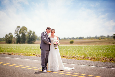 Oregon and Washington Creative wedding photographer Christi Hardy of PureShots Photography traveled to Banks, Oregon in Washington County's Willamette Valley to take wedding pictures at St. Francis of Assisi Catholic Church and at an estate in Banks, Oregon
