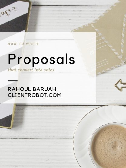 How to write proposals that convert into sales