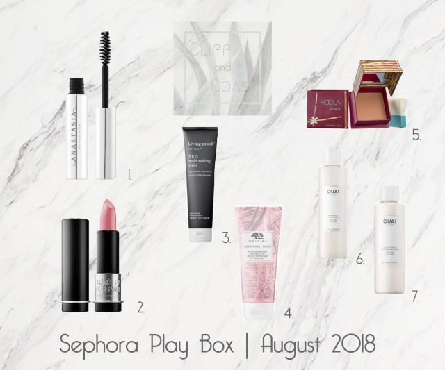 Sephora Play Box August 2018