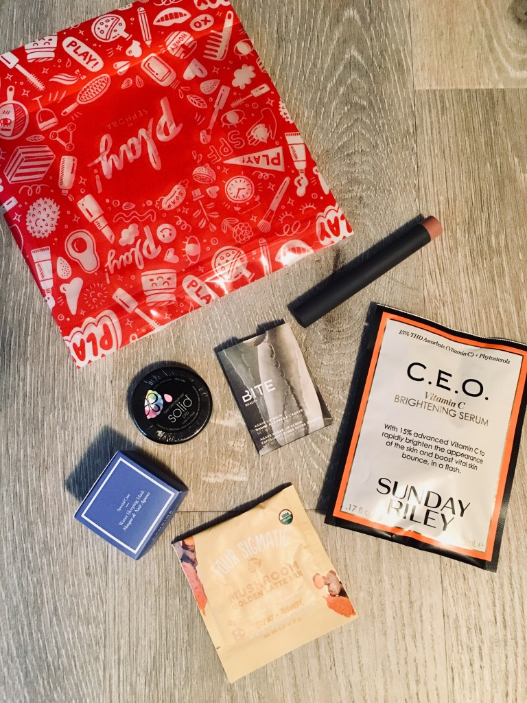 Sephora Play Box January 2018