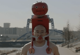 Wearable Robot Feeder?