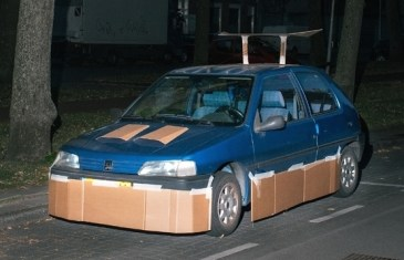 Pimp my Ride… with Cardboard?