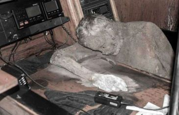 Mummified Captain found on 'ghost ship'