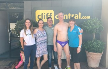 The Good Stuff – Developing Communities & Running around Joburg in Speedos for Good!