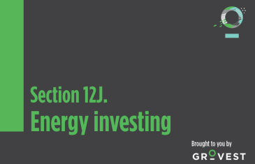 The Section 12J Show: Energy Investing