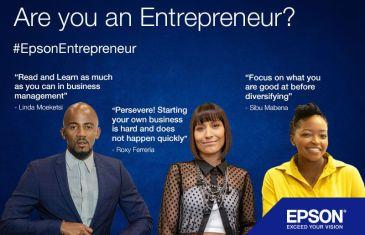 #EpsonEntrepreneur: Start small, Dream big