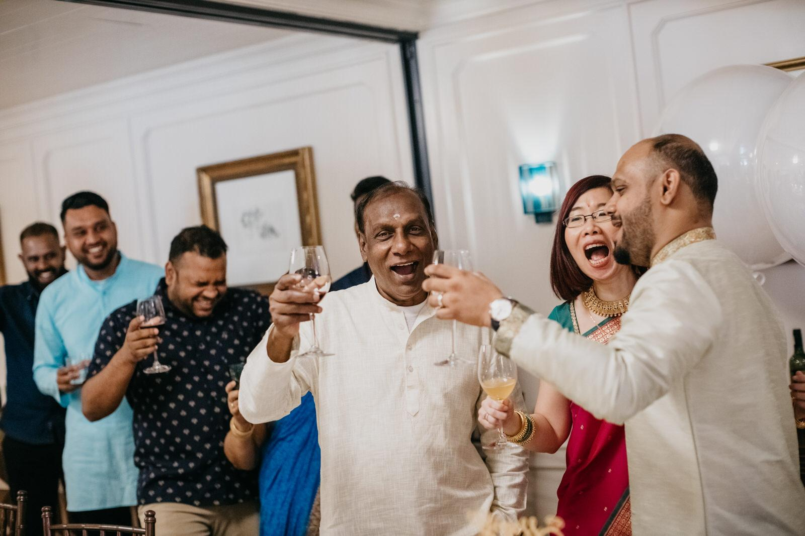 YumSing Cheers An intimate cross-cultural indian chinese wedding at The Chow Kit Hotel in Kuala Lumpur Malaysia Wedding and Portrait Photographer Cliff Choong Photography