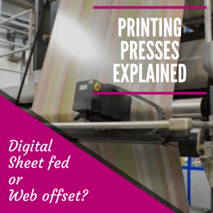 Printing Presses explained
