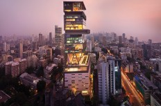 Antilia, the world's second most expensive building