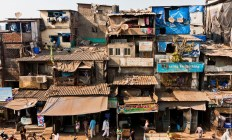 The colonies in Dharavi