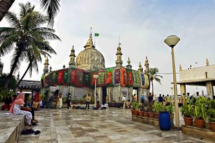Closer look at the Haji Ali Darga
