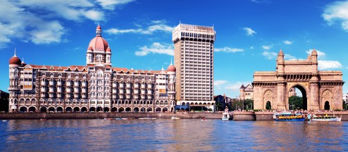 Hotel Taj Mahal Palace and the Gateway of India