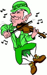 Leprechaun-Fiddling