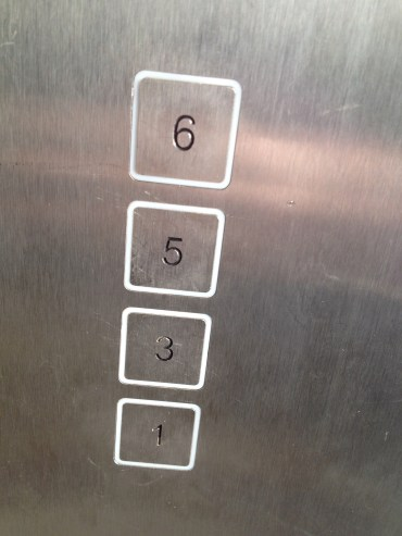 Elevator in our apartment #oops