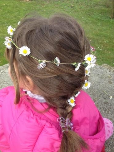 Easter Flowers+girls=flower crown