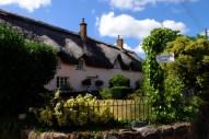 A typical Devon dwelling in the nearby village of Brampton Speke